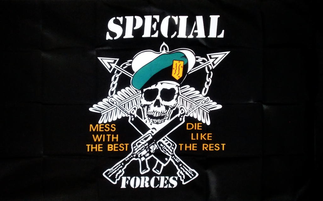 Vlajka US Special Forces